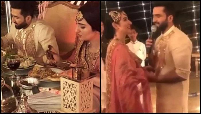 سارہ خان 'مسز فلک ' بن گئیں