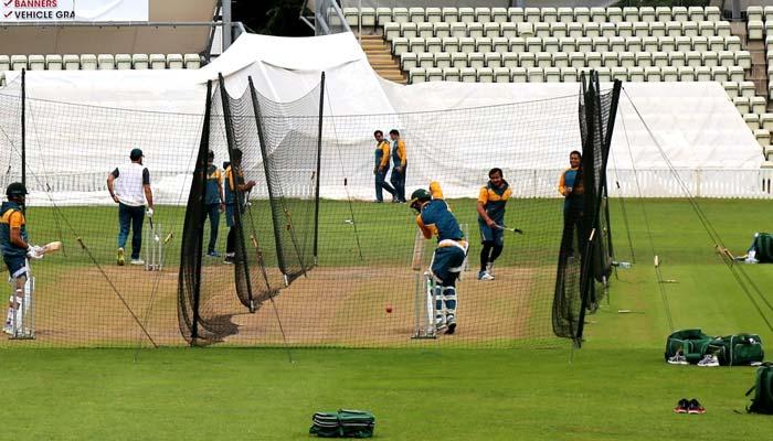 پاکستان ٹیم ایک دن آرام کے بعد کل سے پھر پریکٹس کرے گی
