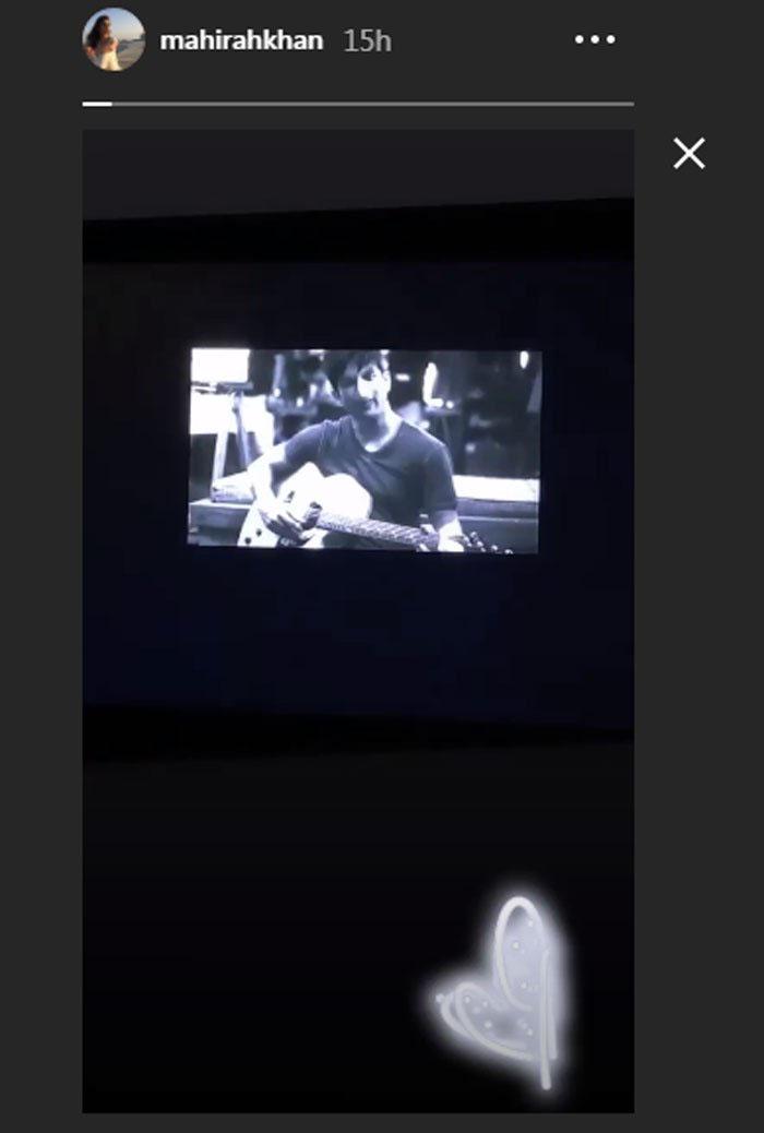 ماہرہ نے بھی سوشانت کی آخری فلم دیکھ لی