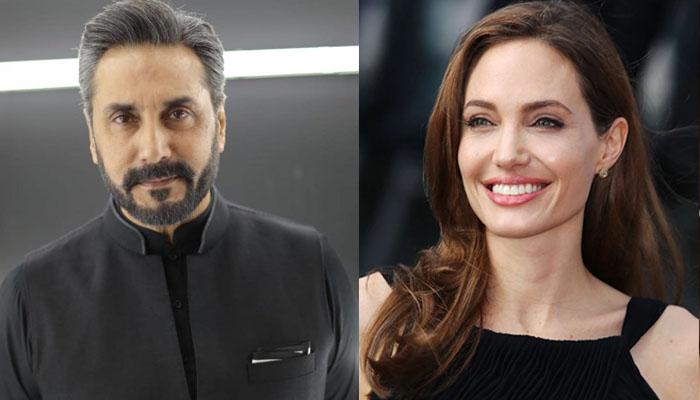عدنان صدیقی اور انجلینا جولی کی تصویر وائرل