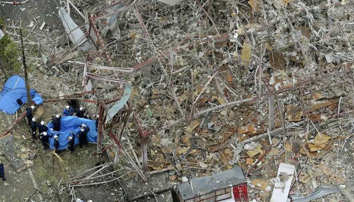 جاپان کے ریستوران میں دھماکہ
