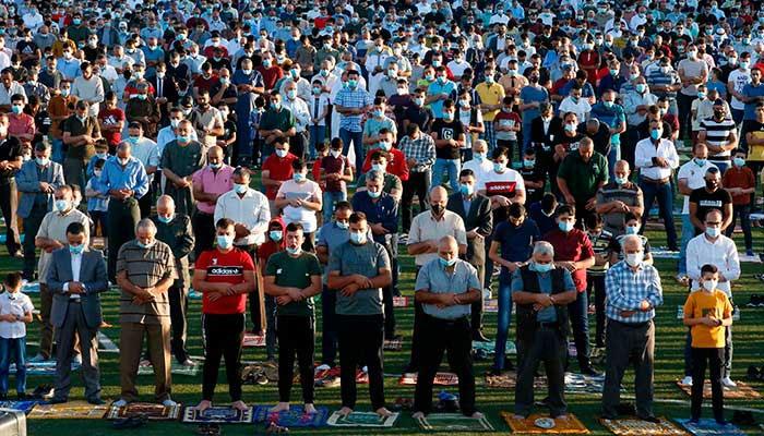 یورپی ممالک میں عید الاضحیٰ، نماز عید کے دوران ایس او پیز کا خیال رکھا گیا