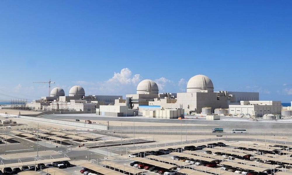 متحدہ عرب امارات، پہلےجوہری توانائی پلانٹ پرکام کاآغاز