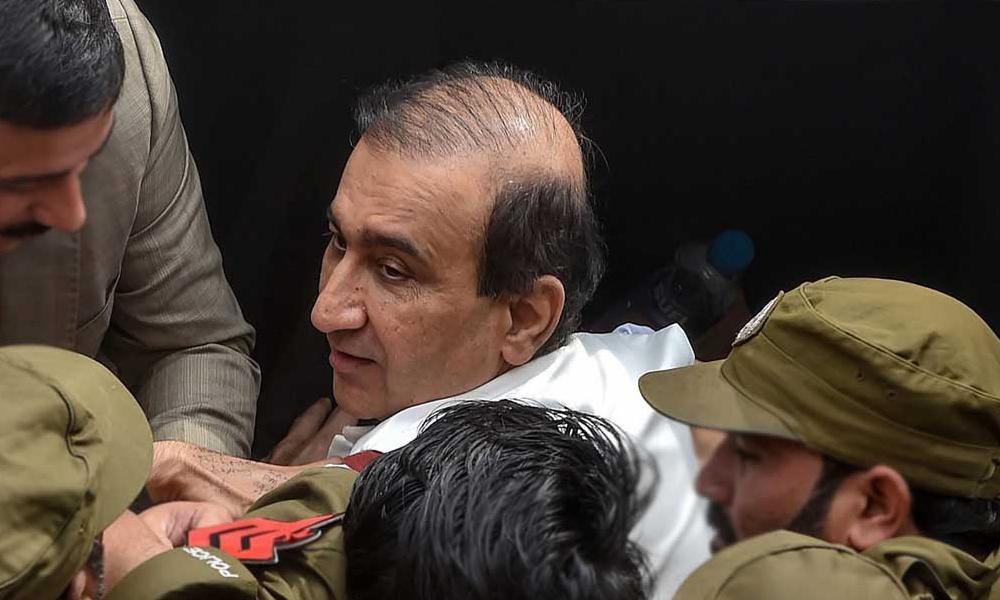 سکھر، میرشکیل الرحمٰن کی گرفتاری کیخلاف احتجاج