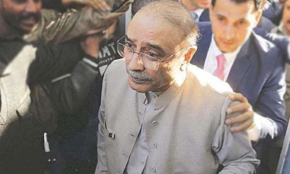 کراچی، نیب ٹیم کی وڈیو لنک انتظامات کیلئے زرداری کے گھر آمد