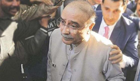 کراچی، نیب ٹیم کی زرداری کے گھر آمد