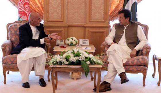 وزیراعظم سے افغان صدر کا ٹیلیفونک رابطہ