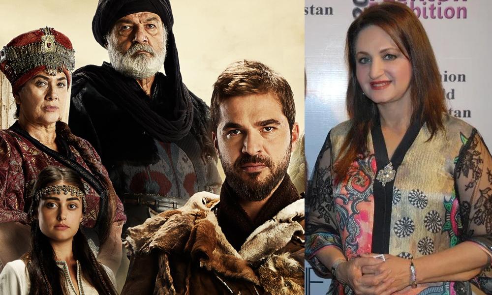 اطغرل ڈرامہ پاکستانی ڈراموں کیلئے رول ماڈل ہے، لیلیٰ زبیری