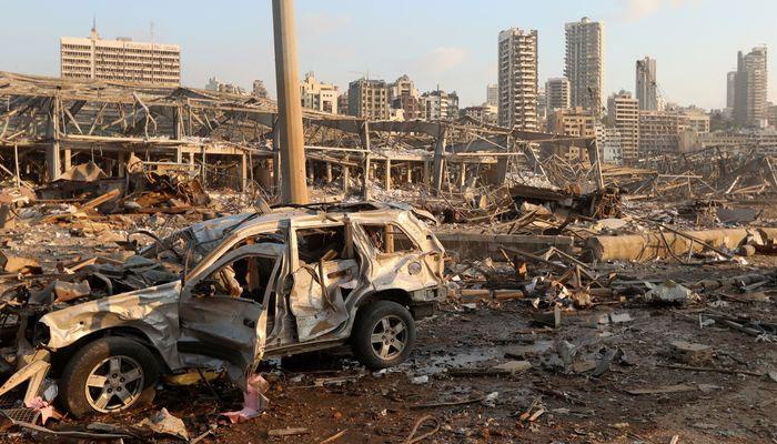 بیروت دھماکوں میں ہلاک افراد کی تعداد 73ہو گئی