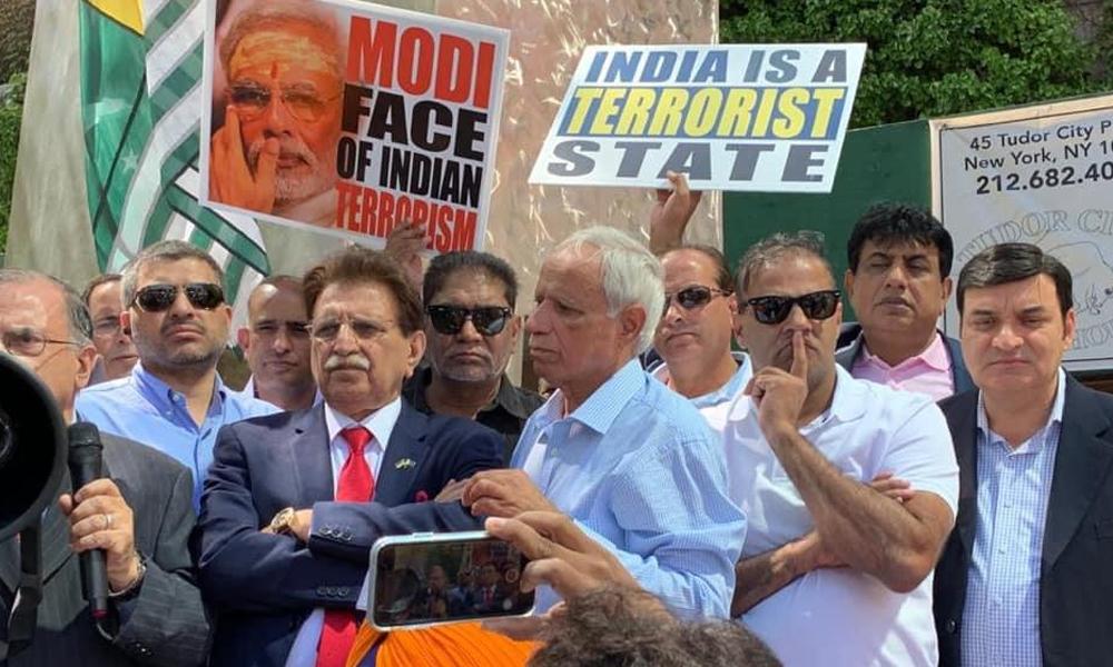 امریکا میں مقیم پاکستانی اور کشمیری یوم استحصال منا رہے ہیں