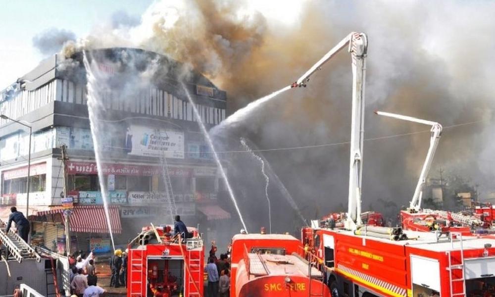 بھارت، اسپتال میں آگ لگنے سے 8 افراد ہلاک