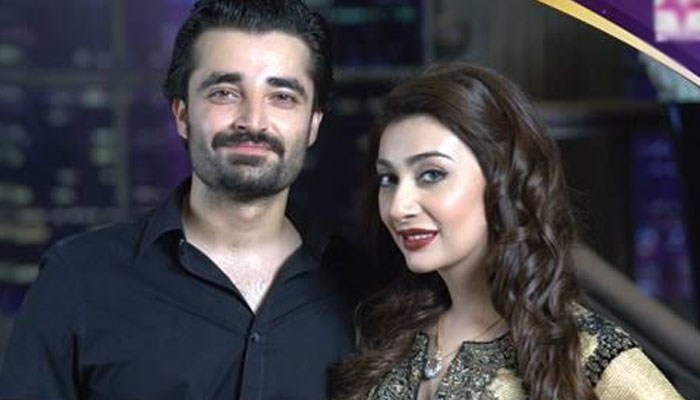 عائشہ خان کی حمزہ عباسی کو بیٹے کی مبارکباد