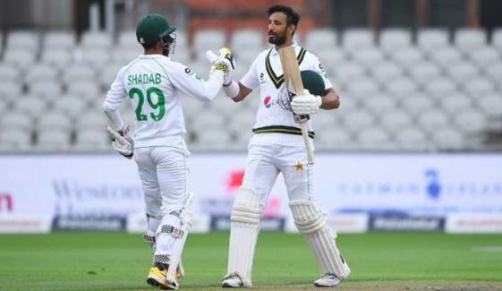 مانچسٹر ٹیسٹ: پاکستان پہلی اننگز میں 326 رنز پر آؤٹ