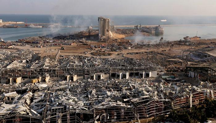 بیروت دھماکے، ہلاکتوں کی تعداد 157ہوگئی