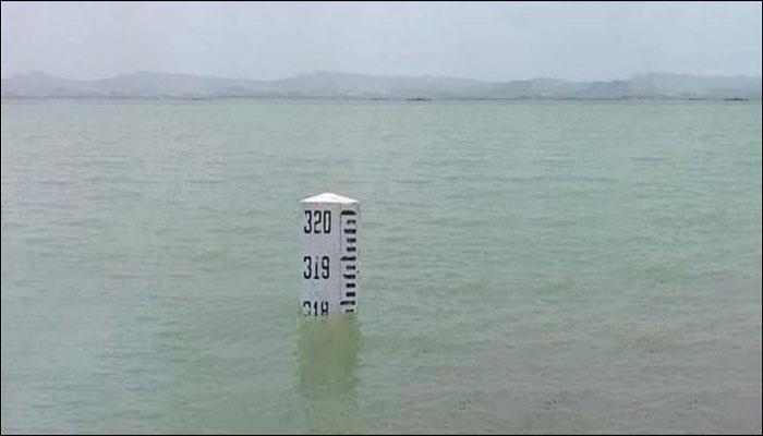 بارش کے بعد حب ڈیم میں پانی کی سطح بلند