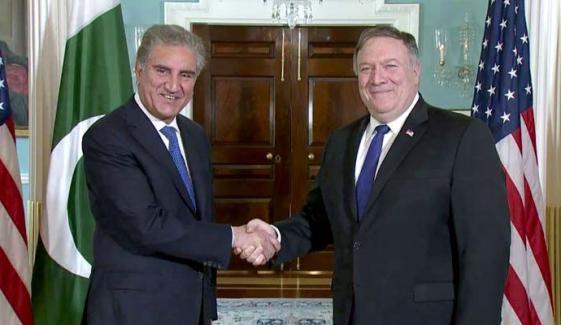 وزیرخارجہ کا امریکی ہم منصب سے ٹیلیفونک رابطہ