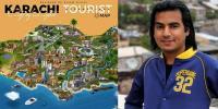 کراچی کا پہلا سیاحتی نقشہ تیار