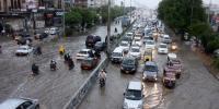 کراچی میں گرج چمک کے ساتھ بارش