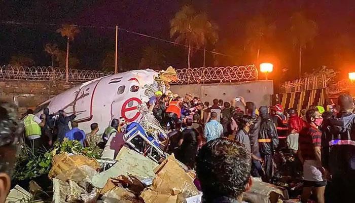 بھارت: طیارہ حادثے میں ہلاکتوں کی تعداد 16 ہوگئی