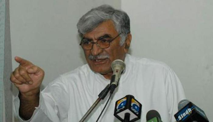افغان سفیر عاطف مشعل کی اسفندیار ولی خان سے الوداعی ملاقات