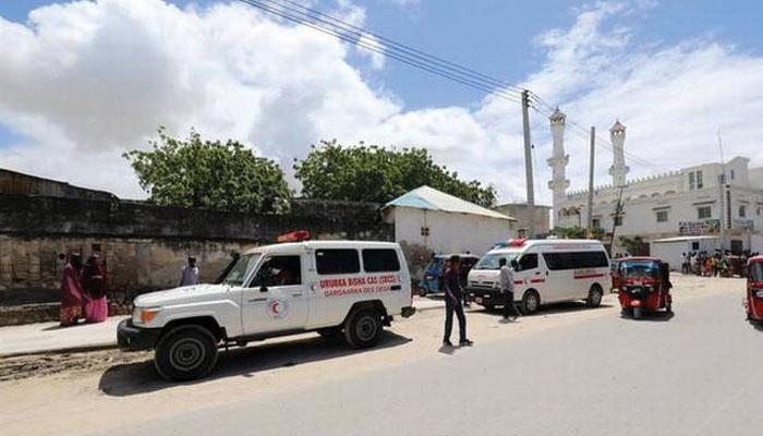 صومالیہ کے فوجی بیس میں دھماکا، 8 افراد ہلاک