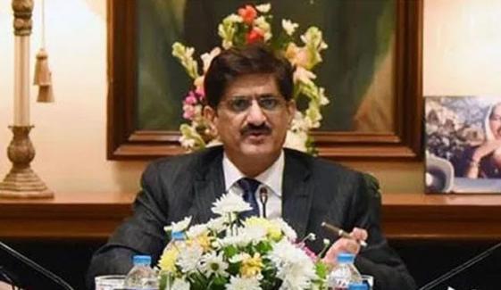 مراد علی شاہ کا دادو کے متاثرہ علاقوں کا دورہ
