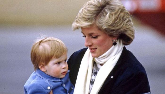 شہزادی ڈیانا نے ہیری کے امریکا جانے کی پیشگوئی کی تھی
