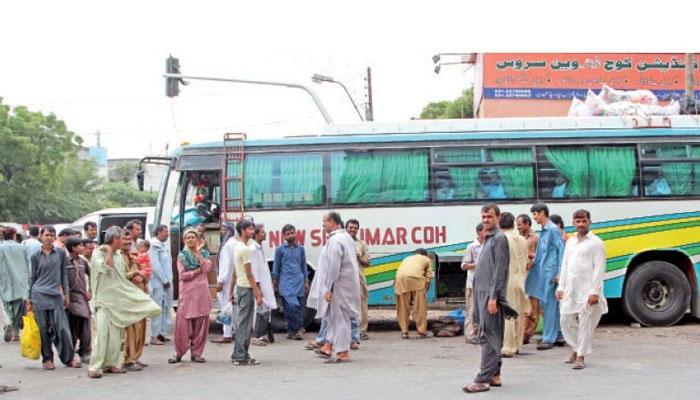 سندھ، بین الصوبائی ٹرانسپورٹ کھولنے کی اجازت