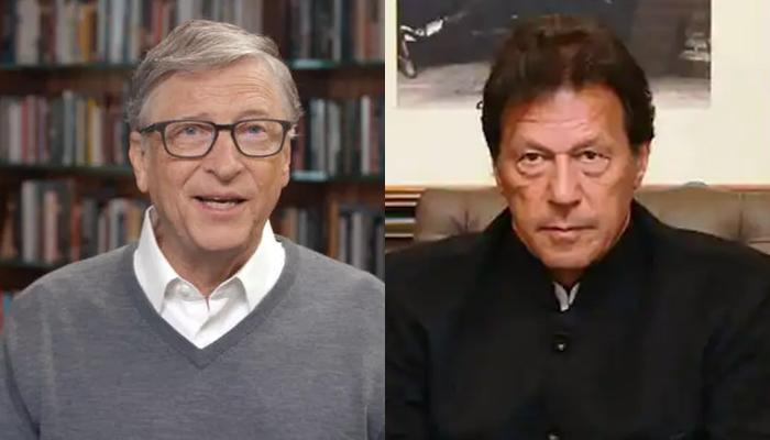 وزیراعظم عمران خان سے بل گیٹس کا ٹیلی فونک رابطہ