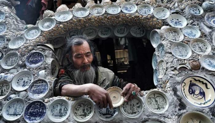 ویتنام میں ہزاروں برتنوں سے سجا گھر توجہ کا مرکز بن گیا