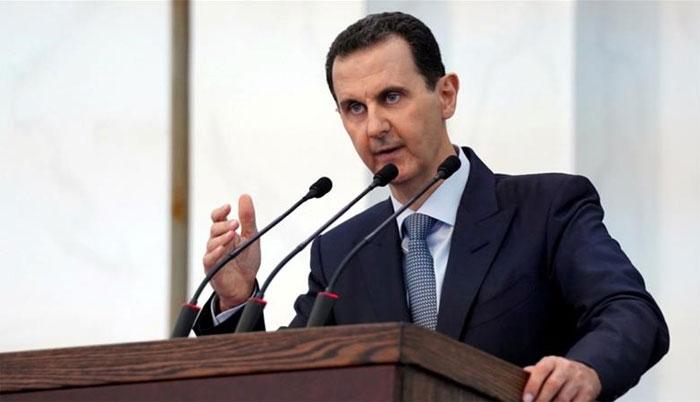 پارلیمنٹ میں خطاب کے دوران شامی صدر بشارالاسد کی طبیعت خراب، وقفے کے بعد دوبارہ آمد