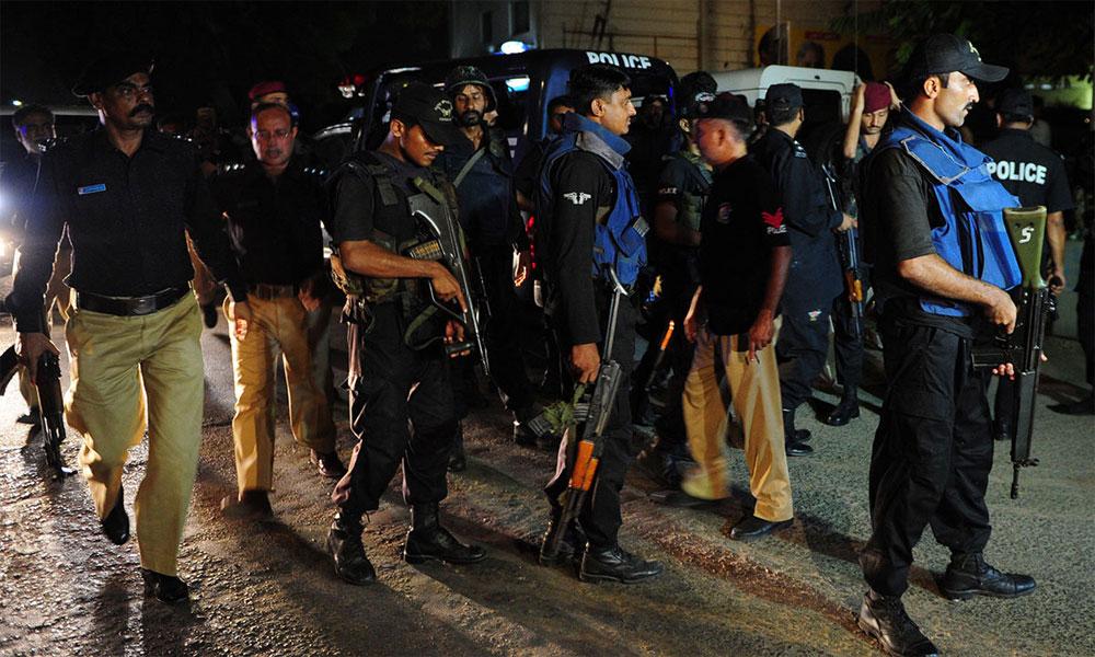 کراچی: ملیر میں آپریشن، 34 افراد زیرِ حراست، 4 ملزم گرفتار