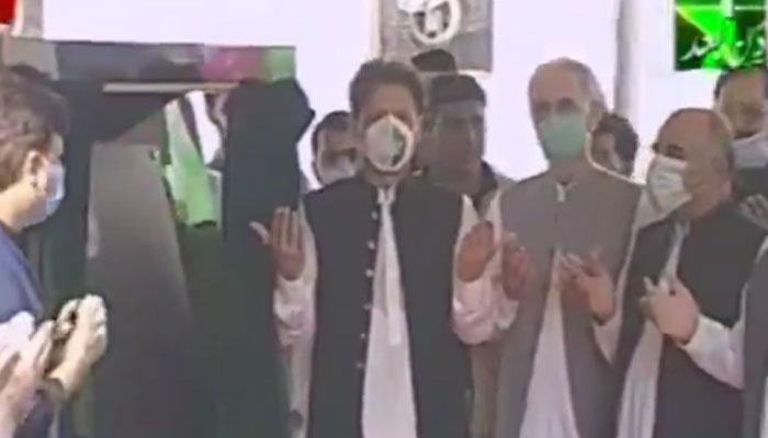 وزیراعظم عمران خان نے پشاور BRT منصوبے کا افتتاح کردیا