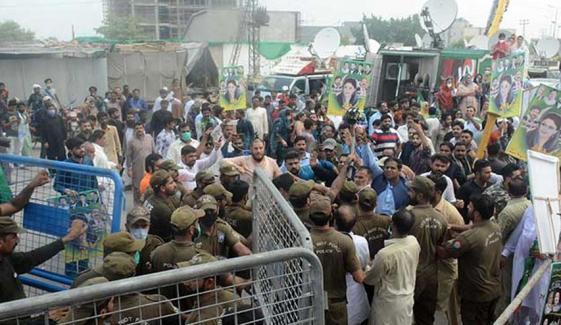 58 گرفتار ن لیگی کارکنوں کی ضمانتیں منظور