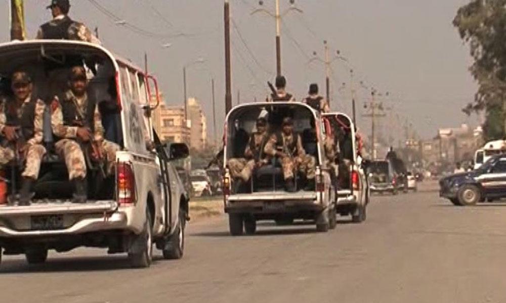 سندھ رینجرز کے یومِ آزادی پر سخت سیکیورٹی انتظامات