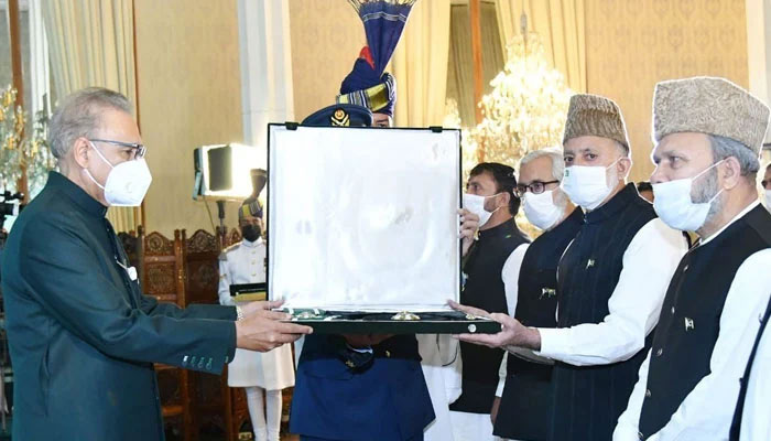 سید علی گیلانی کو نشانِ پاکستان ایوارڈ دیا گیا