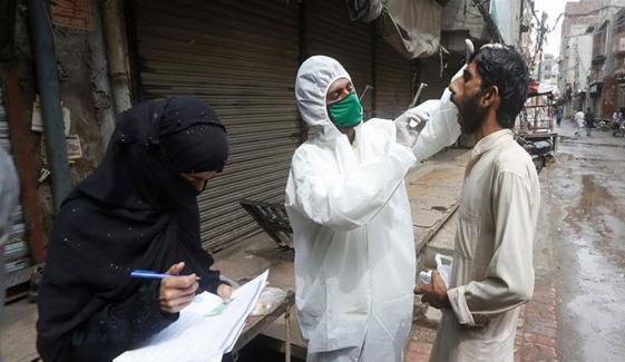 پاکستان: کورونا کیسز 288047، اموات 6162