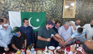 برسلز، کورونا لاک ڈاؤن کے باوجود پاکستانی کمیونٹی کاجشن