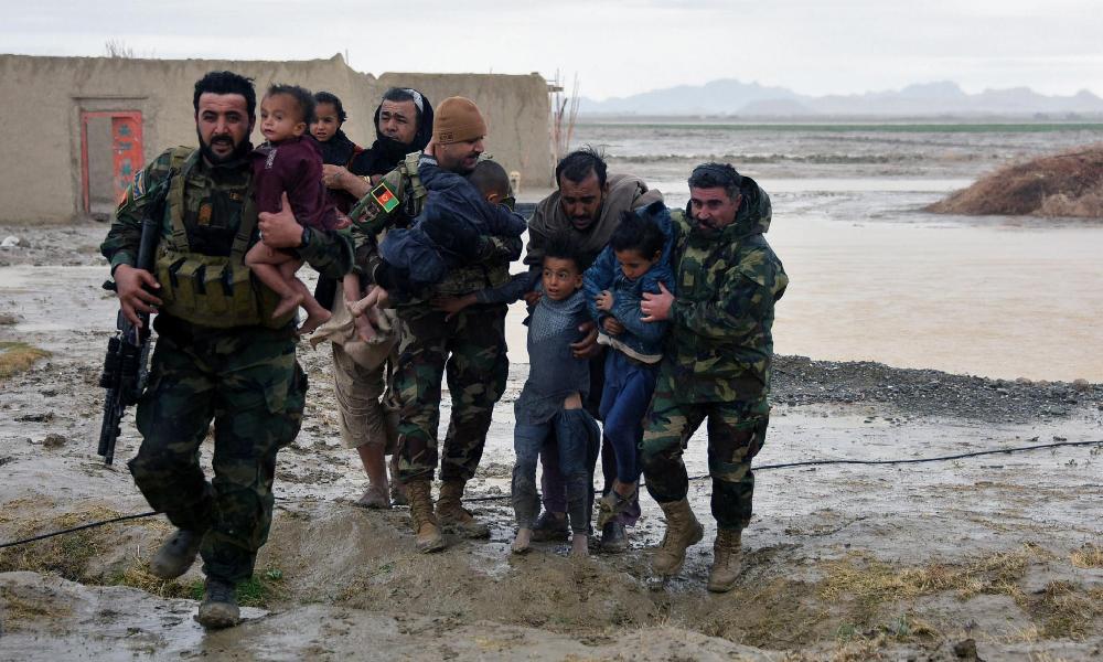 افغانستان:بارشں،سیلابی ریلوں سے 160 افراد جاں بحق