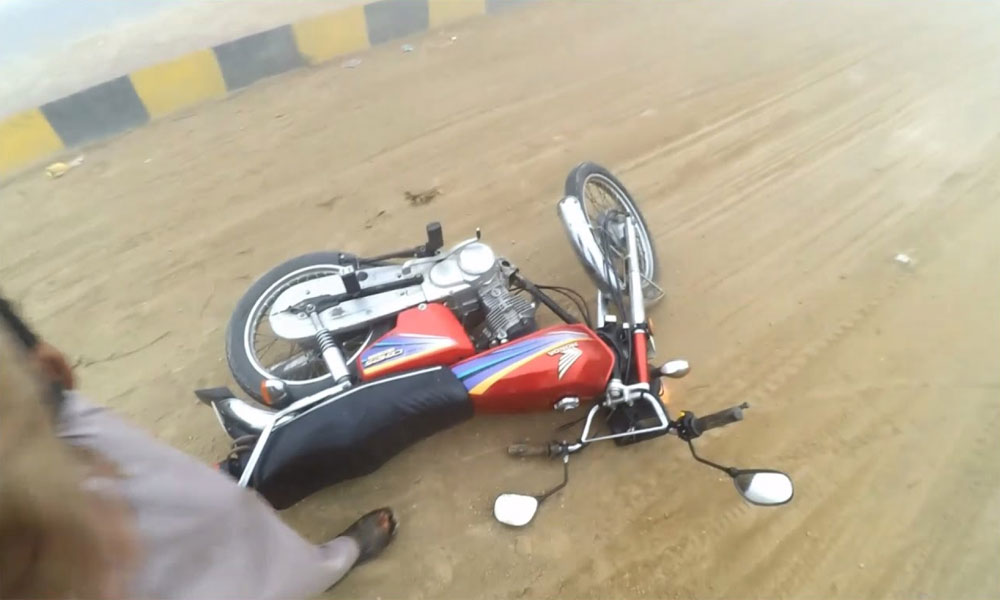 کوہلو: ڈمپر کی موٹر سائیکل کو ٹکر، نوجوان جاں بحق