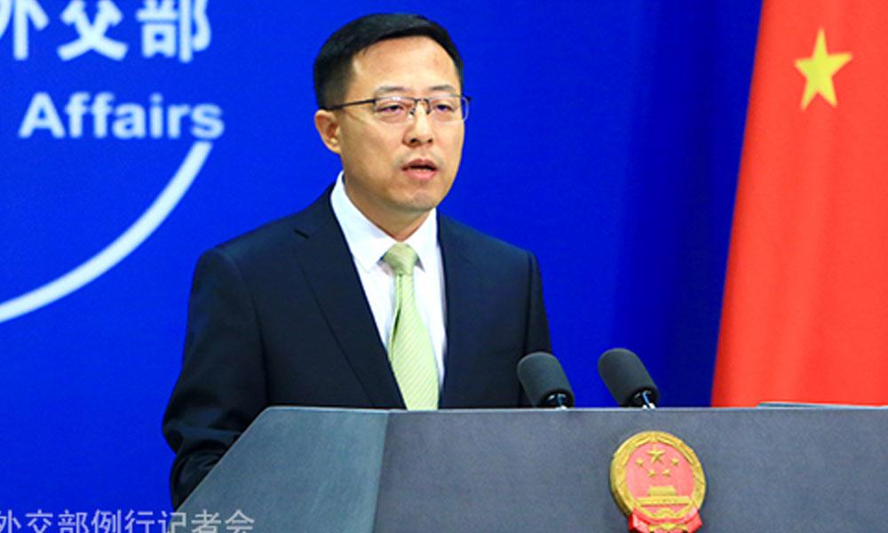 ویزے منسوخی پر جوابی کارروائی کا حق ہے، چینی وزارت خارجہ