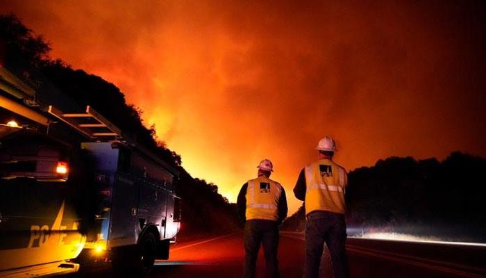 امریکا : جنگلات میں آگ سے تباہی، 23 افراد ہلاک،