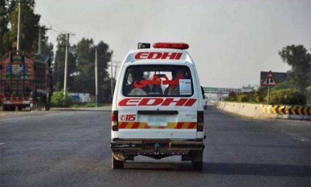کراچی: بلدیہ کے خالی کمپاؤنڈ میں دفن کی گئی لاش برآمد