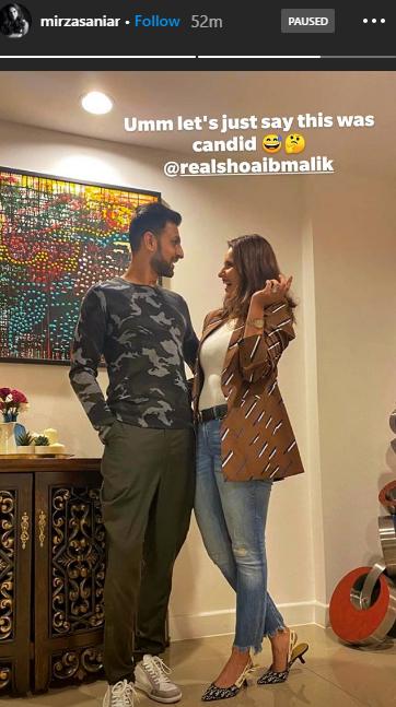 طویل مدت بعد ثانیہ نے شعیب کے ساتھ تصویر شیئر کردی