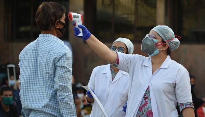 بھارت میں کورونا کیسز کی تعداد 54 لاکھ کے قریب