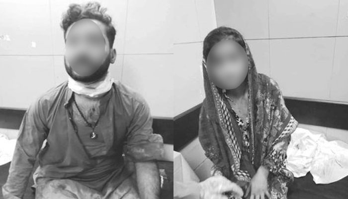شیر پاؤ کالونی میں پانچ افراد کا لڑکا اور لڑکی پر چھریوں سے حملہ
