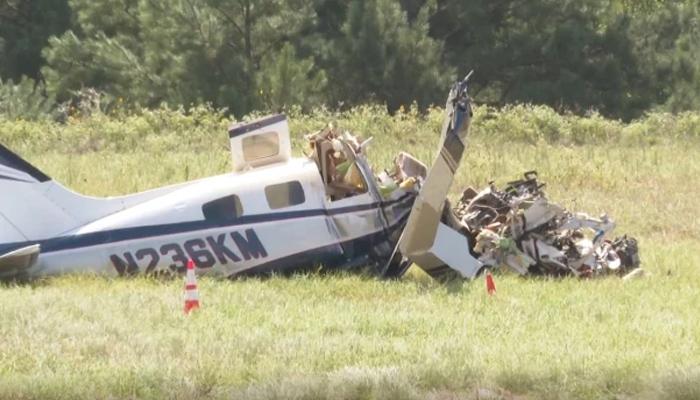ٹیکساس : چھوٹا طیارہ حادثے کا شکار ، 4 افراد ہلاک