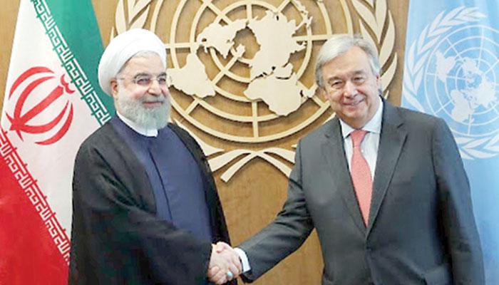 ایران پر پابندیوں کے تنازع سے  اقوام متحدہ کو نئے چیلنجز کا سامنا