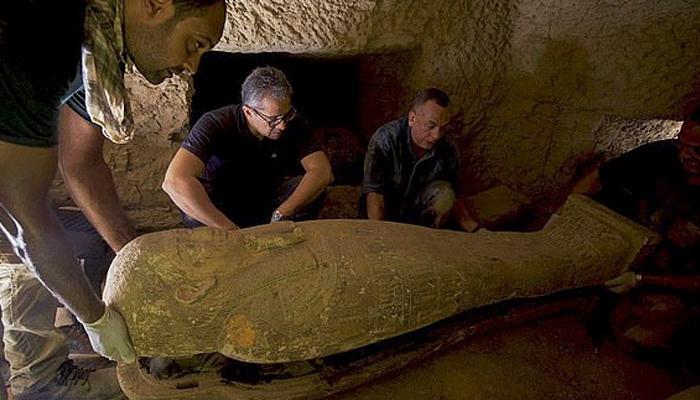 مصر :ڈھائی ہزار سال قدیم 14 تابوت دریافت