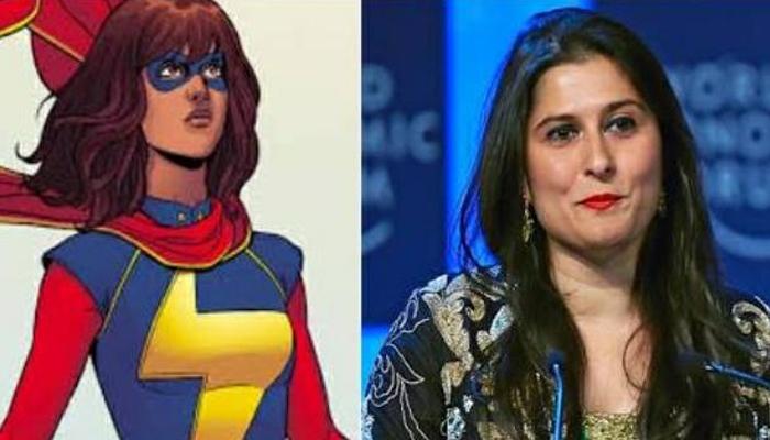 شرمین عبید مسلم خاتون سپرہیرو پر مبنی ٹی وی سیریز کی ہدایات کیلئے منتخب